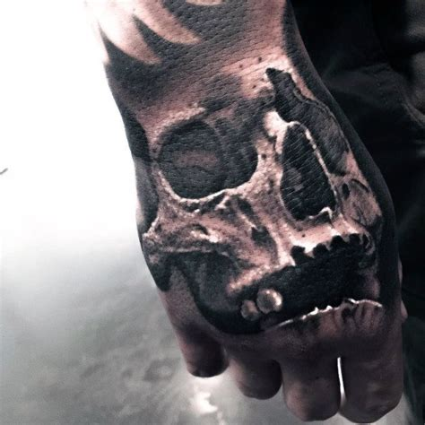 shaded skull tattoo designs 50 badass tattoos for masculine design ideas