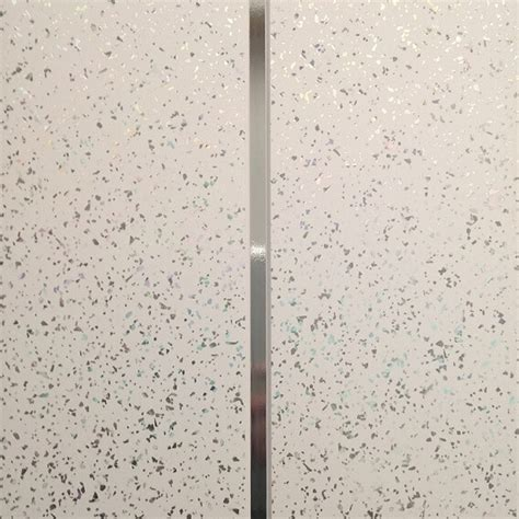 bathroom wall shower panels white sparkle embedded silver v groove pvc cladding bathroom shower wall panels