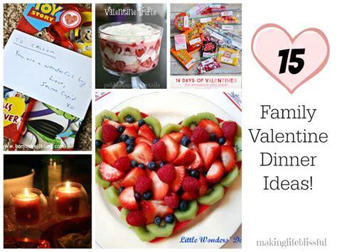 valentines family dinner easy trifle dessert blissful