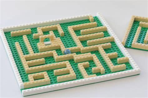 lego labyrinth tutorial kids lego marble run the crafty mummy
