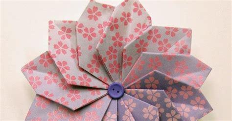 Origami Dahlia - beadlust origami dahlias and cardinals