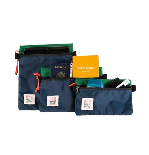 Accessory Of The Week The Bag 3 by Topo Designs Accessory Bags 3 Pack Navy Jetzt K 246 Nnen Sie