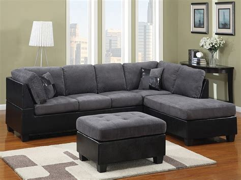 Sectional Sofa Design Wonderful Gray Microfiber Sectional Grey Microfiber Sectional Sofa