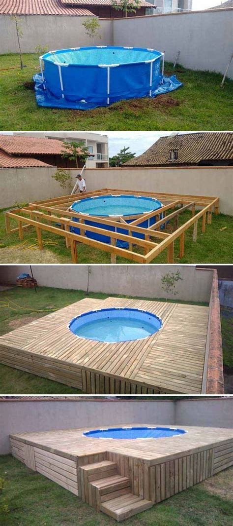 cheap pool ideas top 19 simple and low budget ideas for building a floating