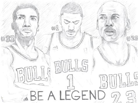coloring pages of derrick rose derrick rose be a legend by samakowolf on deviantart
