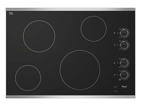 schott ceran cooktop price whirlpool w5ce3024xb 30 quot electric ceramic glass cooktop