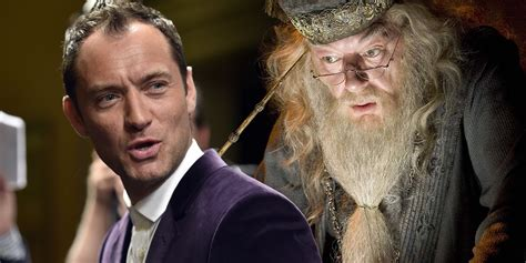 fantastic beasts 2 flamel actor jude law to meet with j k rowling screen rant