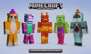 Minecraft party skin pack minecraft 360 edition giving us rare skin