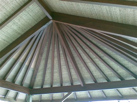 Patio Ceiling Lining by Bali Huts Thatched Roof Replacement Asphalt Shingle