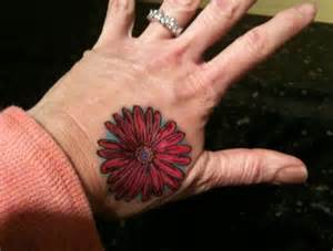 flower hand tattoo daisy flower hand tattoo design tattoobite com