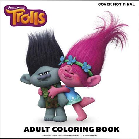 branch s bunker birthday dreamworks trolls golden book books the official trolls coloring book dreamworks trolls