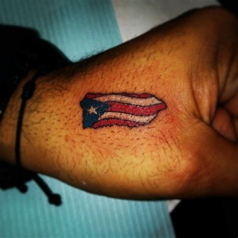 puerto rican flag tattoos designs best 25 ideas on american