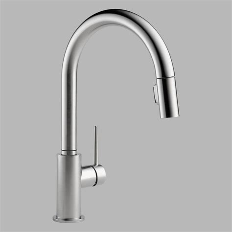 kitchen faucet fixtures delta 9159 single handle pull kitchen faucet