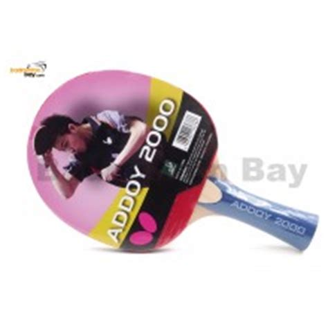 Bat Tenis Meja Butterfly Timoball 2000 butterfly timo boll 2000 fl shakehand table tennis racket