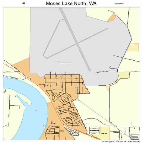 Aho Construction Floor Plans by Moses Lake Wa Street Map