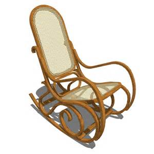rocking wicker chair 3d model formfonts 3d models amp textures