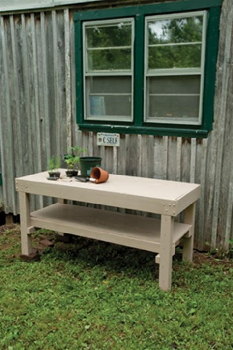 build your own potting bench amazing potting bench plans to work easier in garden