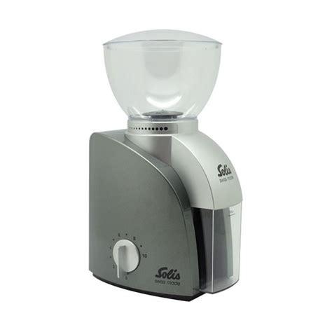 jual solis scala conical burr coffee grinder type  silver  lapak otten coffee ottencoffee