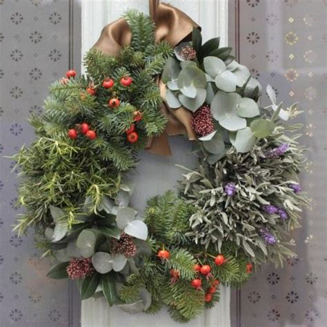 27 best real scented christmas wreaths 2015 images on
