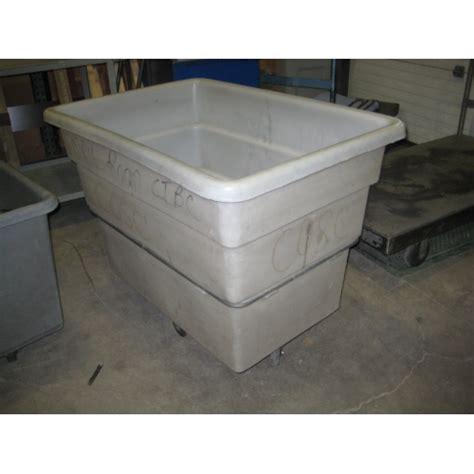 Rolling Rubbermaid Basket Truck Garbage Laundry Bin Cart Rubbermaid Laundry