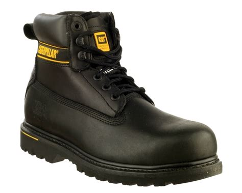 Sepatu Caterpillar Holton Steel Toe footwear cat holton black steel toe
