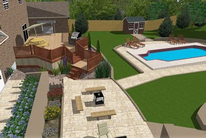 Backyard Designer Tool by Free Patio Design Software Designer Tools