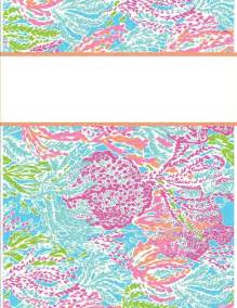 lilly pulitzer binder templates printable binder cover templates lilly pulitzer binder