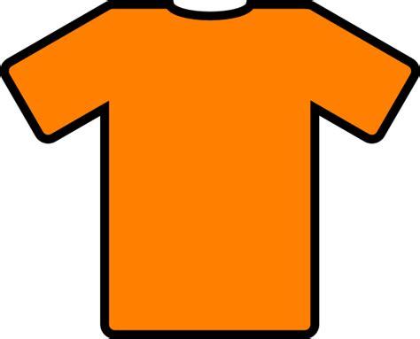 t shirt clip orange t shirt clip clip at clker vector