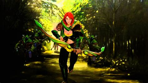 dota 2 windrunner wallpaper hd 6590 dota 2 windrunner hd desktop background wallpaper