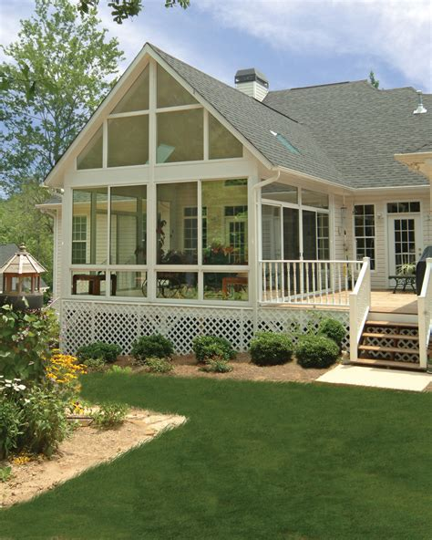Sunroom On A Deck by Patio Enclosures Inc Provides Five Lessons For Building
