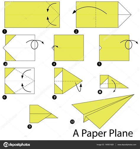 como hacer origami de un avion paso a paso las instrucciones de c 243 mo hacer un avi 243 n de