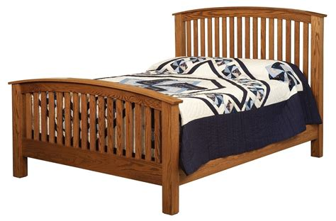 pic of bed beds amish furniture gallery in lockport il