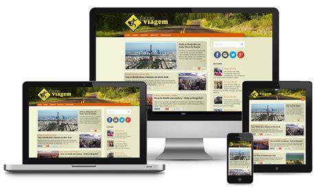 layout blog viagem press kit para viagem