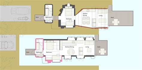 up house floor plan pop up house marc medland architect