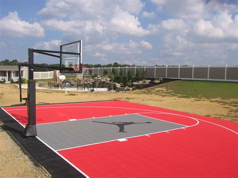 basketball tennis multi use courts l deshayes courts