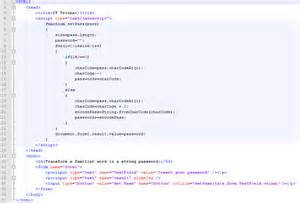 javascript html template password generator javascript exle i4mk
