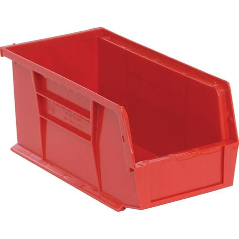 organization bins stanley 1 compartment stackable storage bin 056400l the