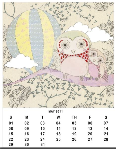 doodle calendar create 20 free printable calendars planners for 2011