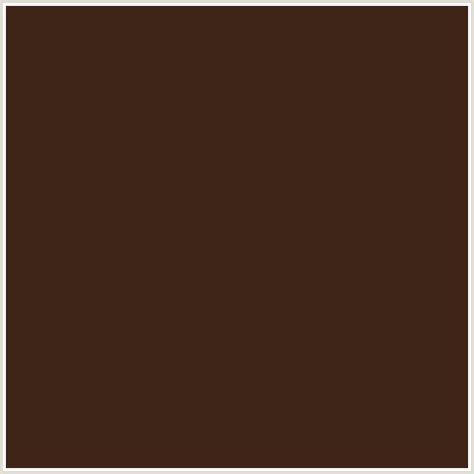 cocoa color 3f2518 hex color rgb 63 37 24 cocoa bean orange