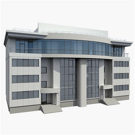 3d house builder 3d office building model