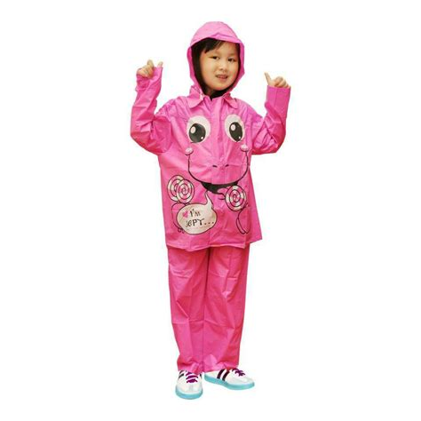 Jas Hujan Jaket Celana Tebu jual jas hujan anak jaket celana indoplast kiddo grosir