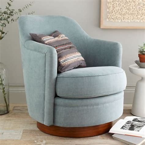 tub swivel chair tub swivel arm chair west elm