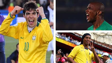 kaka best goal kaka eto o and ronaldinho the confederations cup s