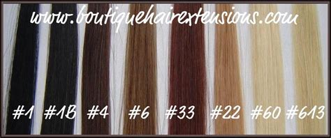 hair extension color chart hair extensions colour chart images frompo 1