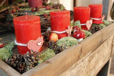 Einfache Weihnachtsdeko Basteln 5979 by Bild 1 Aus Beitrag Adventskranz Einmal Anders
