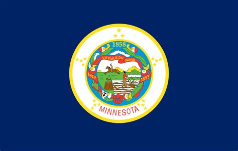 Of Minnesota Search Minnesota State Flag Images