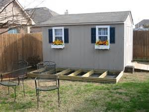 shed deck lean to shed kit different types shed