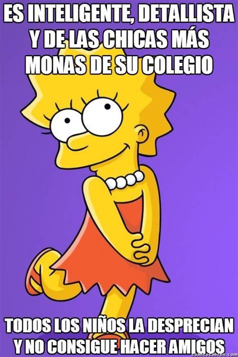 imagenes memes de los simpson memes e im 225 genes graciosas de lisa simpson para reir un