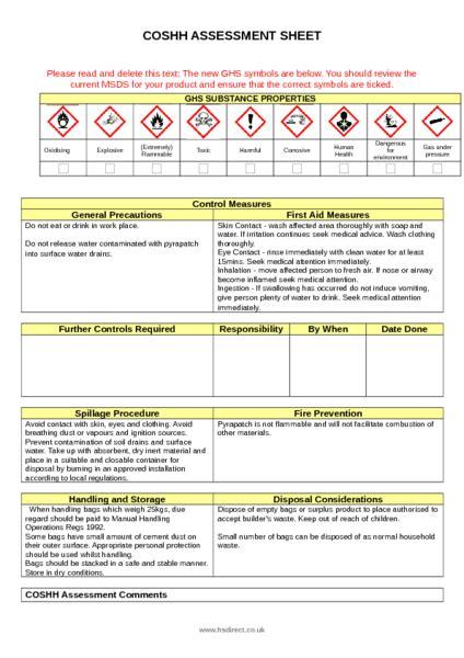 Engineering Risk Assessment Template