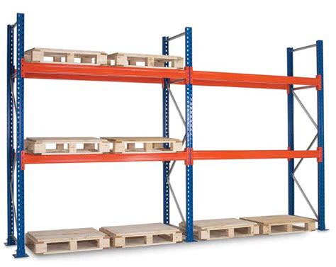warehouse optimization with an efficient pallet rack
